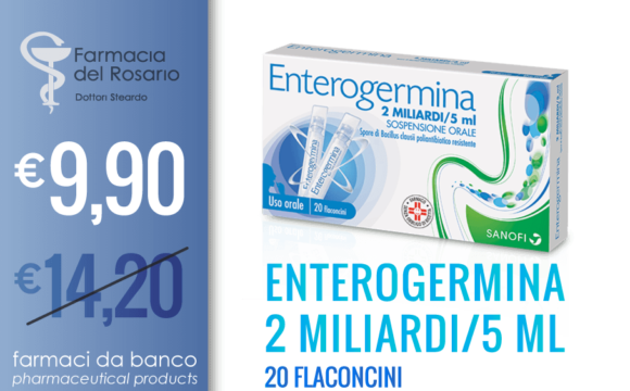 ENTEROGERMINA for stomach bloating therapy