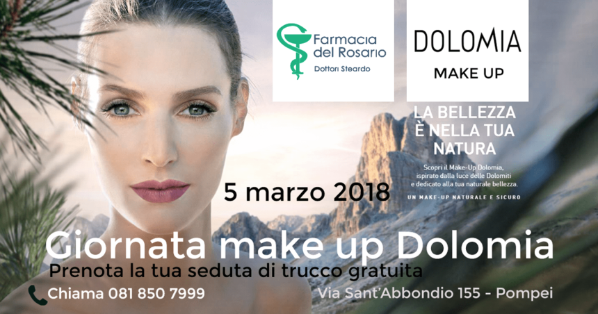 Free make up session with Dolomia!
