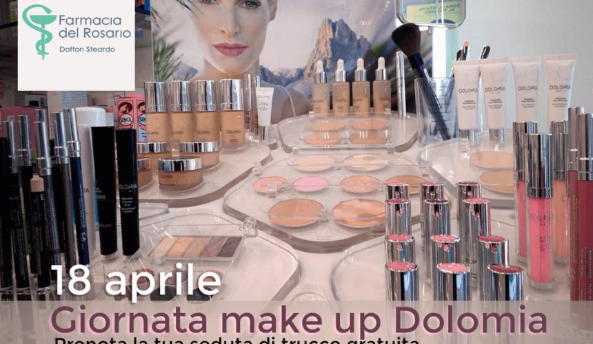 18 aprile: ritorna in farmacia l'appuntamento con Dolomia make up