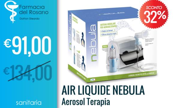 Air liquide Nebula aerosol terapia