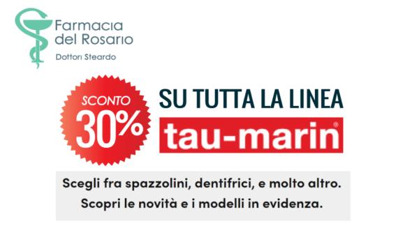 Tutta la linea Tau Marin scontata del 30%