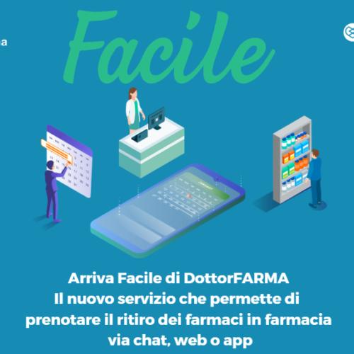 """Prenota i tuoi farmaci nel modo più """"Facile"""" con la nuova iniziativa Dottorfarma!"""