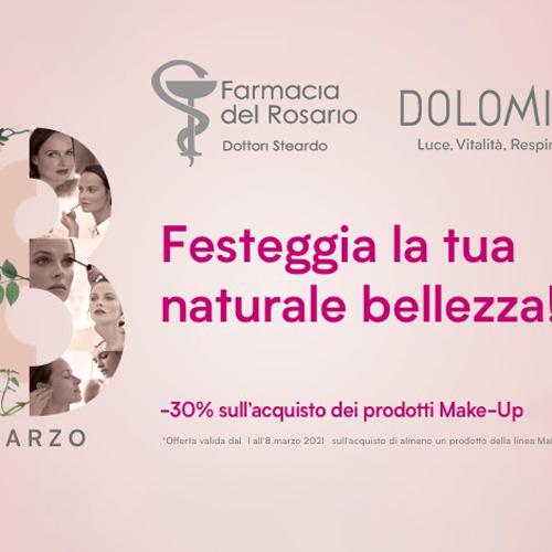 Festa della Donna 2021: un omaggio speciale per le nostre clienti!