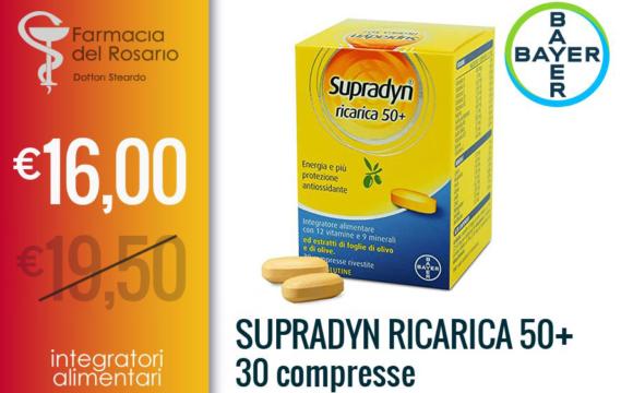 Supradyn ricarica 50+